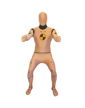 Krasj Dukke Morphsuit Kostyme Voksen