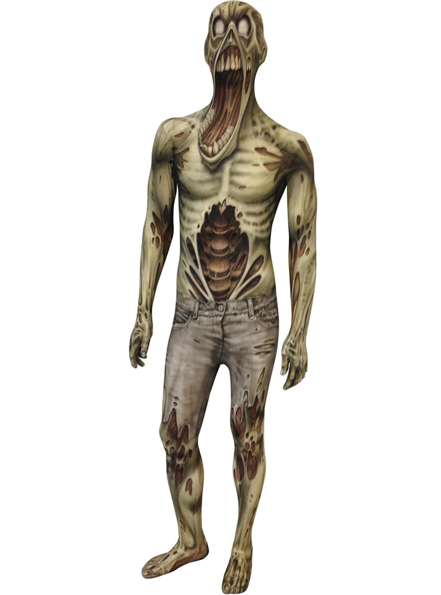 Zombie Monster Collection Adult Morphsuit Costume Fast Delivery