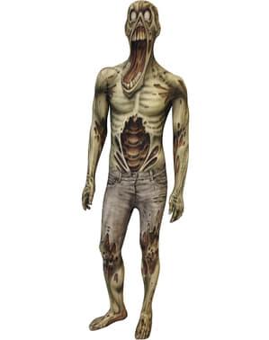 Zombie Monster Kolleksjon Morphsuit Kostyme Voksen