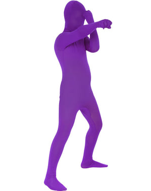 Disfraz morado Morphsuits infantil
