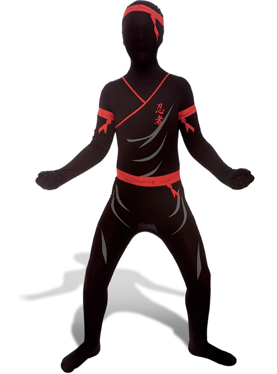 costume de ninja morphsuits enfant acheter en ligne sur funidelia. Black Bedroom Furniture Sets. Home Design Ideas