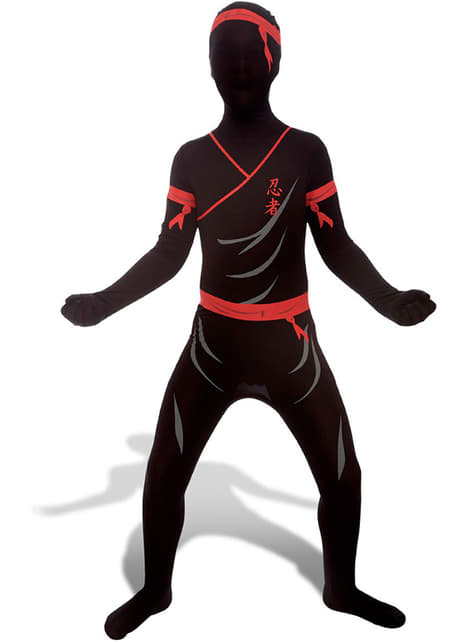 Kostium ninja Morphsuit dla dzieci