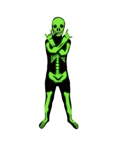 Shiny Skeleton Toddler Morphsuit Costume ...  sc 1 st  Funidelia & Morphsuits costumes - Second skin and zentai outfits | Funidelia
