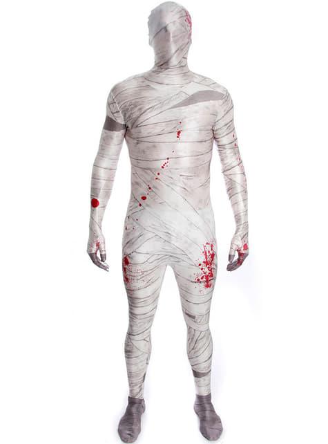 Mummie Morphsuit kostuum voor jongens