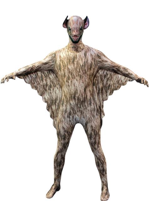 Přiléhavý dětský kostým netopýr morphsuit