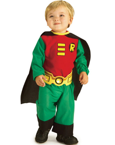 Robin Teen Titans Baby Costume Robin Teen Titans Baby Costume  sc 1 st  Funidelia & Adorable baby costumes! So cute you canu0027t resist! online | Funidelia