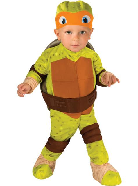 Mikey Ninja Turtles Kostuum voor baby's