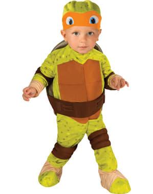 Maskeraddräkt Michelangelo Ninja Turtles för bebis