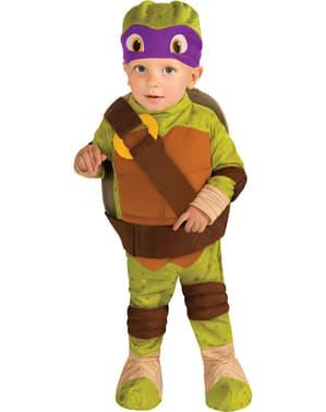 Maskeraddräkt Donatello Ninja Turtles för bebis