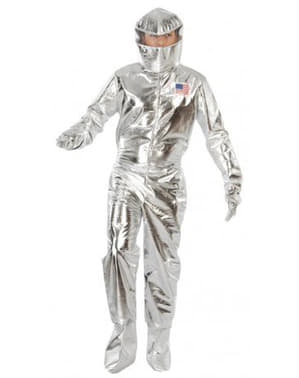 Ezüst űrhajós ruha
