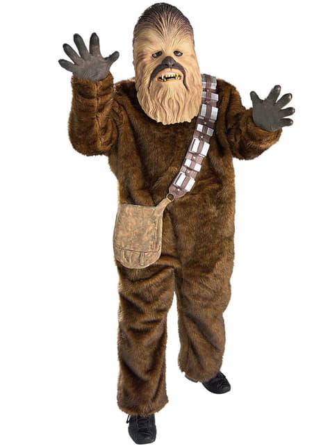 Maskeraddräkt Chewbacca deluxe för barn