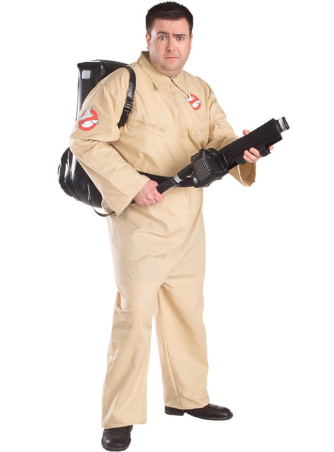 Adults Plus Size Ghostbuster Costume