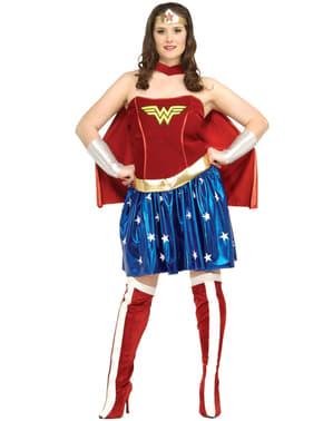 Dámský kostým Wonder Woman nadměrná velikost
