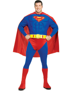 Disfraz de Superman musculoso talla grande