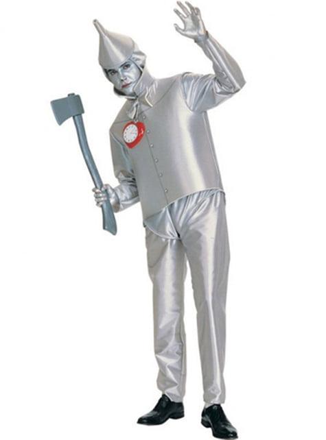 Plus κοστούμι μεγέθους Tin Man