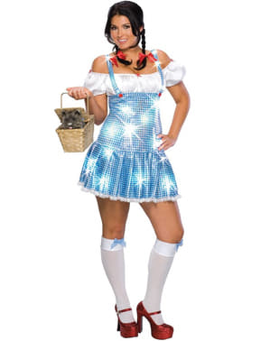 Sexy Dorothy Kostüm große Größe
