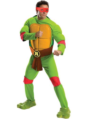 Costume de raphael tortue ninja pour homme funidelia - Tortue ninja raphael ...