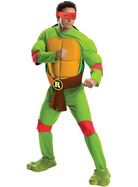 Maskeraddräkt Raphael Ninja Turtles för man