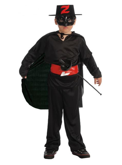Disfraz de bandido para niño