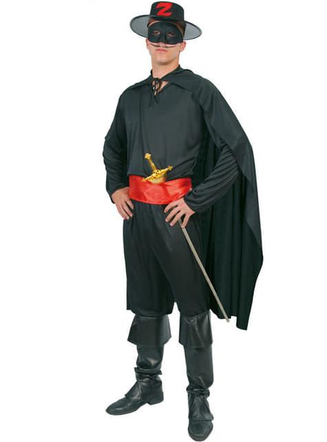 Disfraz de justiciero para hombre