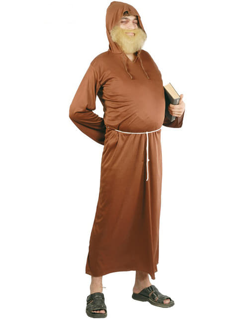 Maskeraddräkt munk för man