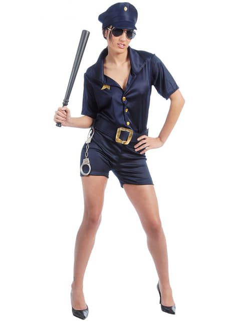 Fato de mulher polícia sexy