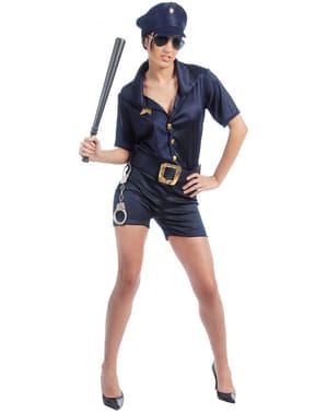 Sexy politieagente kostuum voor vrouw