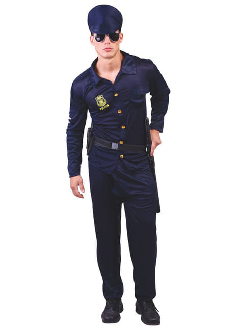 Disfraz de hombre policía sexy