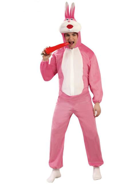 Костюм на розово зайче