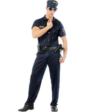 Politi Offiser Kostyme