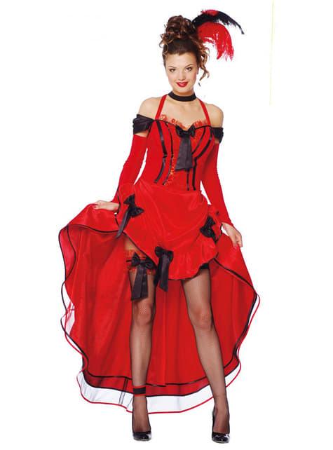 Cancan Dame Kostüm