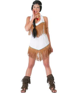 Modig Indianer Kostyme til Damer