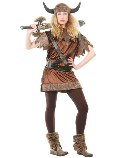 Brute Female Viking Costume