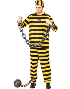 Gevaarlijke gevangene kostuum