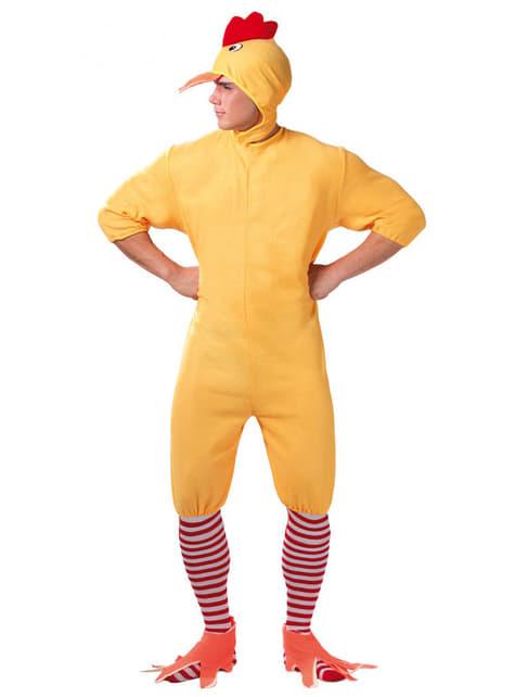 Chick kostým pre dospelých