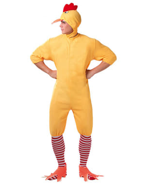 Disfraz de pollito para adulto