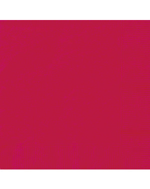 20 șervețele mari roșii (33x33 cm) - Gama Basic Colors
