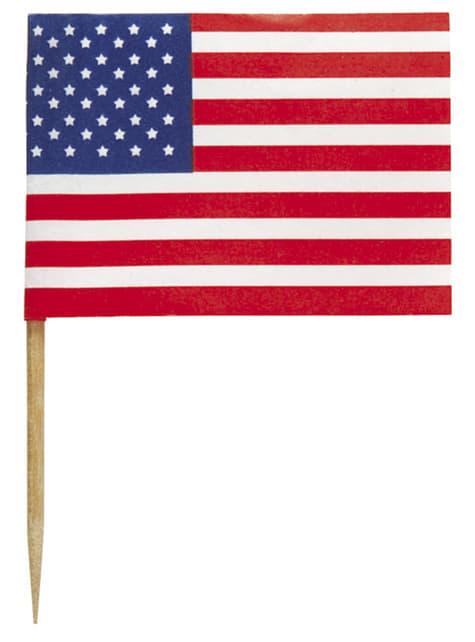 Conjunto de 30 palitos - American Party