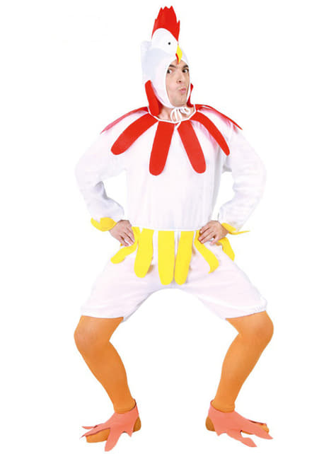 Høne kostume til voksne