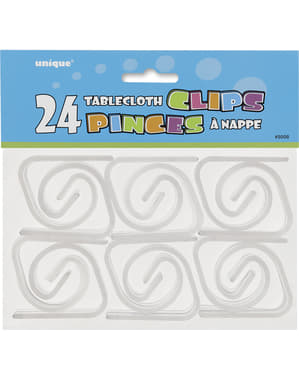 24 table cloth fasteners