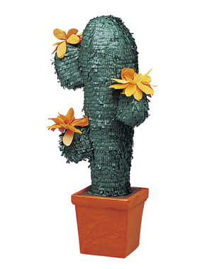 Średnia piniata w kształcie kaktusa