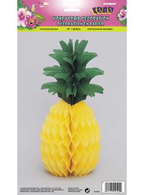 Centre de table ananas hawaïen