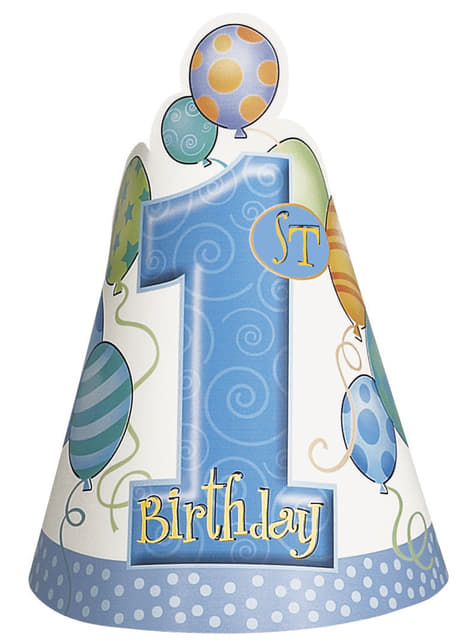 1. Geburtstag Set blau