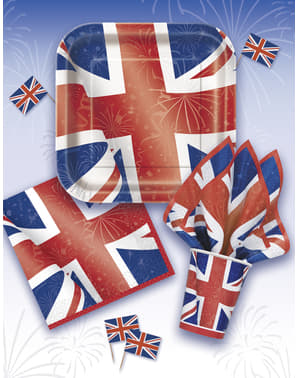 8 square plate (23 cm) - Best of British