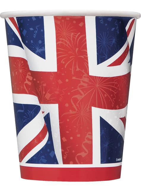 8 gobelets - Best of British