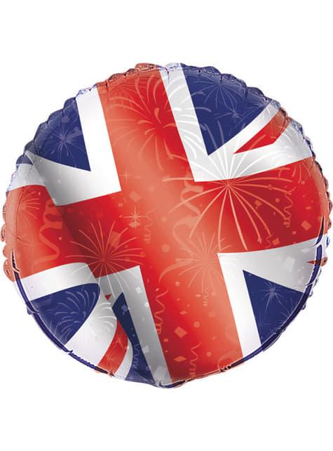 Globo de foil - Best of British