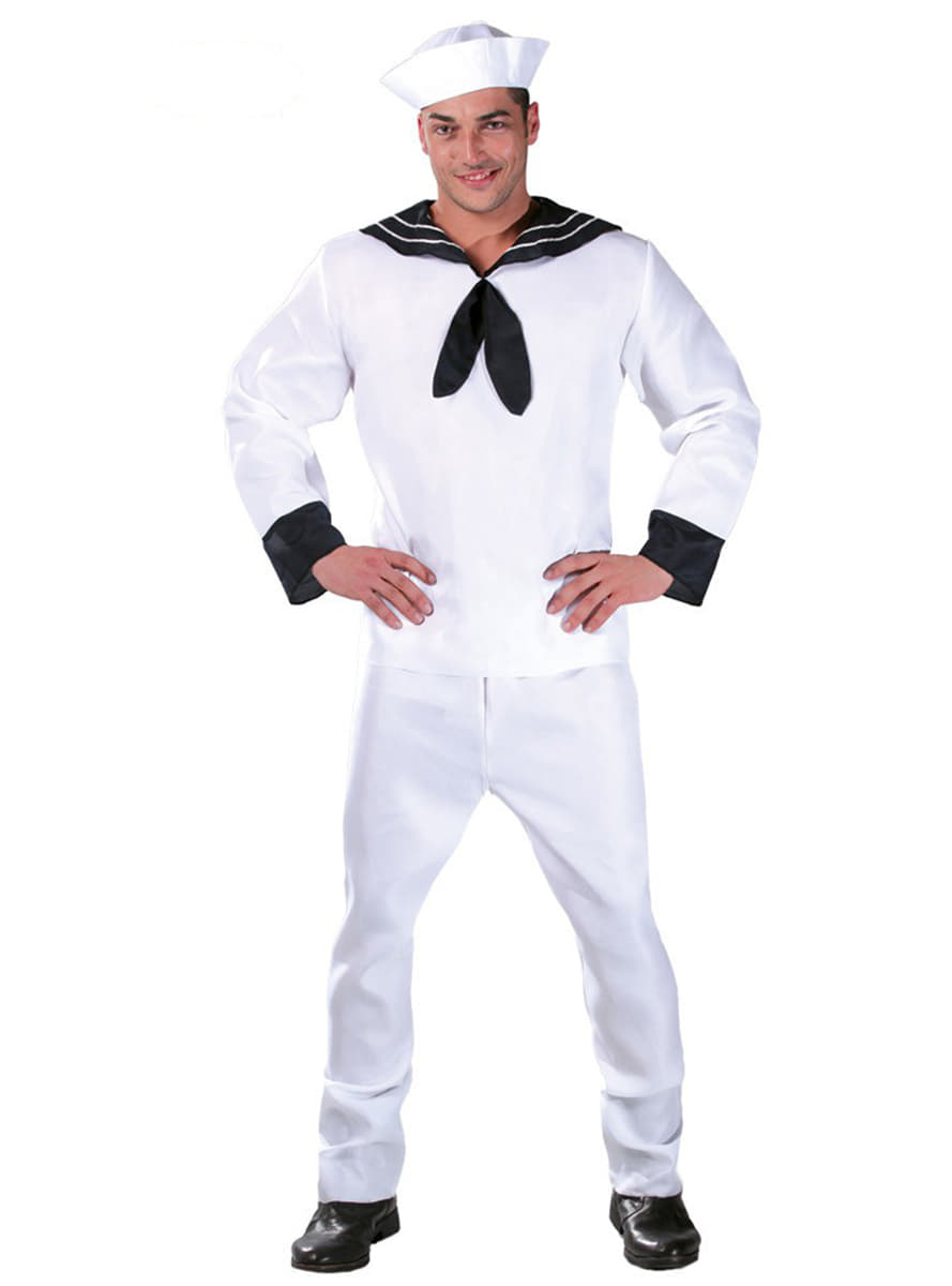 Handsome Sailor Costume. Detalle Zoom  sc 1 st  Funidelia & Handsome Sailor Costume. Fast delivery | Funidelia