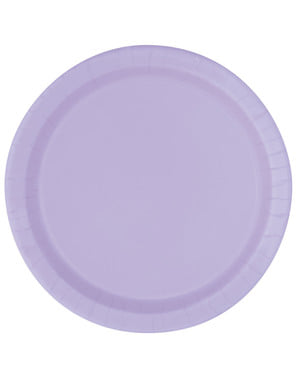 Set od 16 lila ploča - linija osnovnih boja