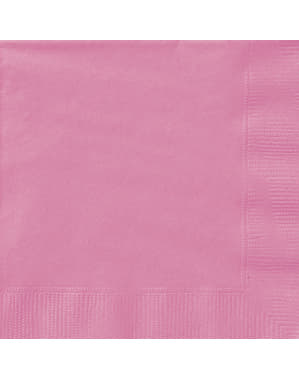 20 tovaglioli grandi ros (33x33 cm) - Linea Colori Basic