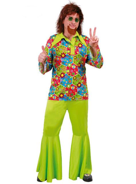 Flower Power Kostyme for menn